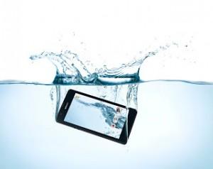 Anti air Sony Xperia ZR. Photo: Sony