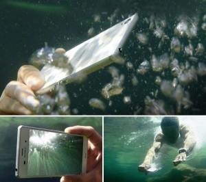 Ulasan Keunggulan Sony Xperia Z3, Merekan dalam air