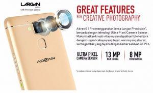 Smartphone Advan G1 Pro, Kamera Canggih, Speaker Hebat, Harga Murah
